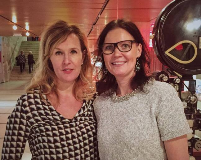 Lena Rehnberg och Annica Bellander