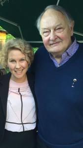 Eva Melander och Fredrik Ohlsson.